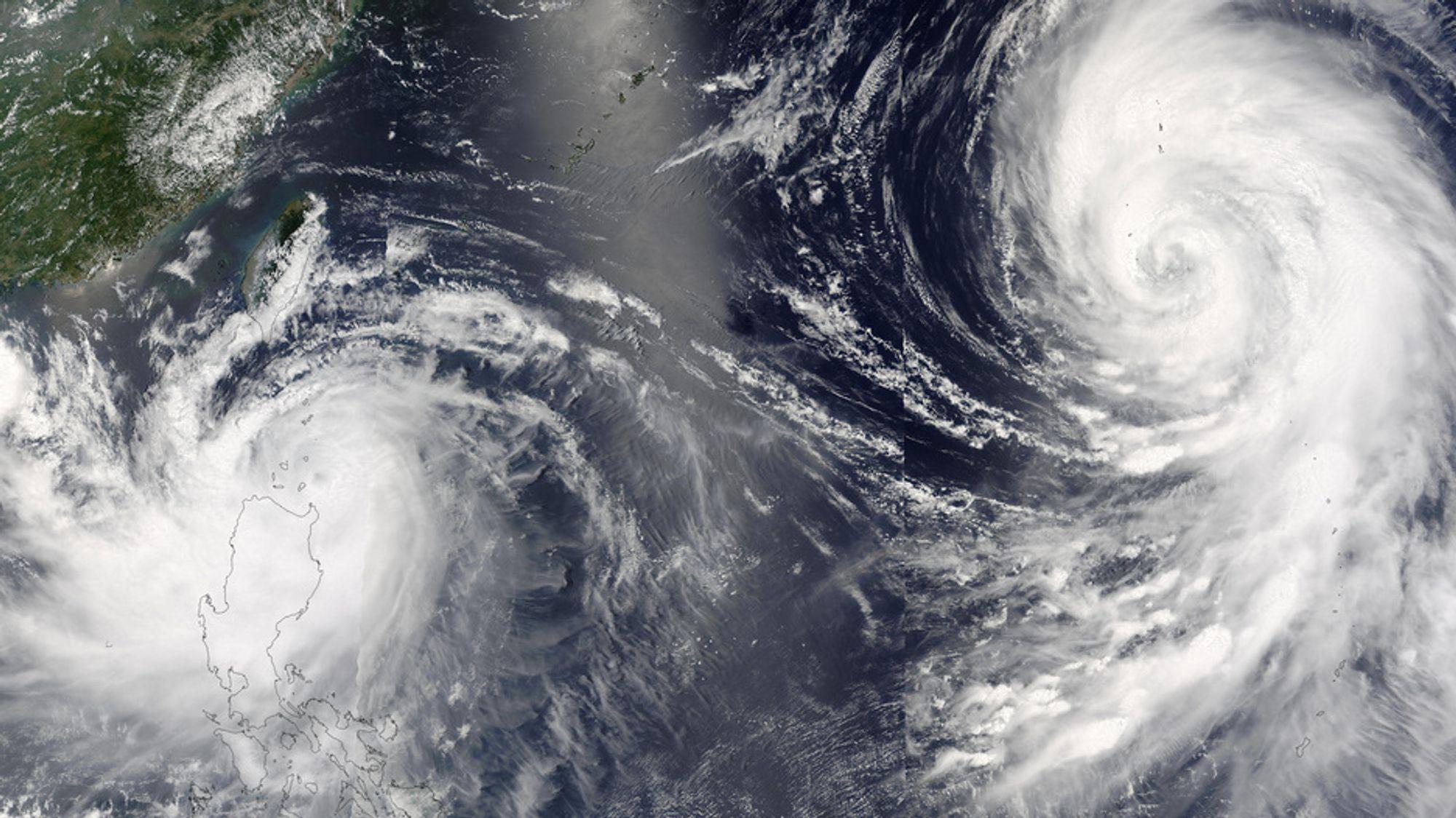 Tyfonen Mindulle traff Taiwan og Filippinene i juni 2004. Skadene var store, men for klimaet var det ikke så aller verst. Tusenvis av tonn av karbonholdig jord ble lagret på havets bunn.