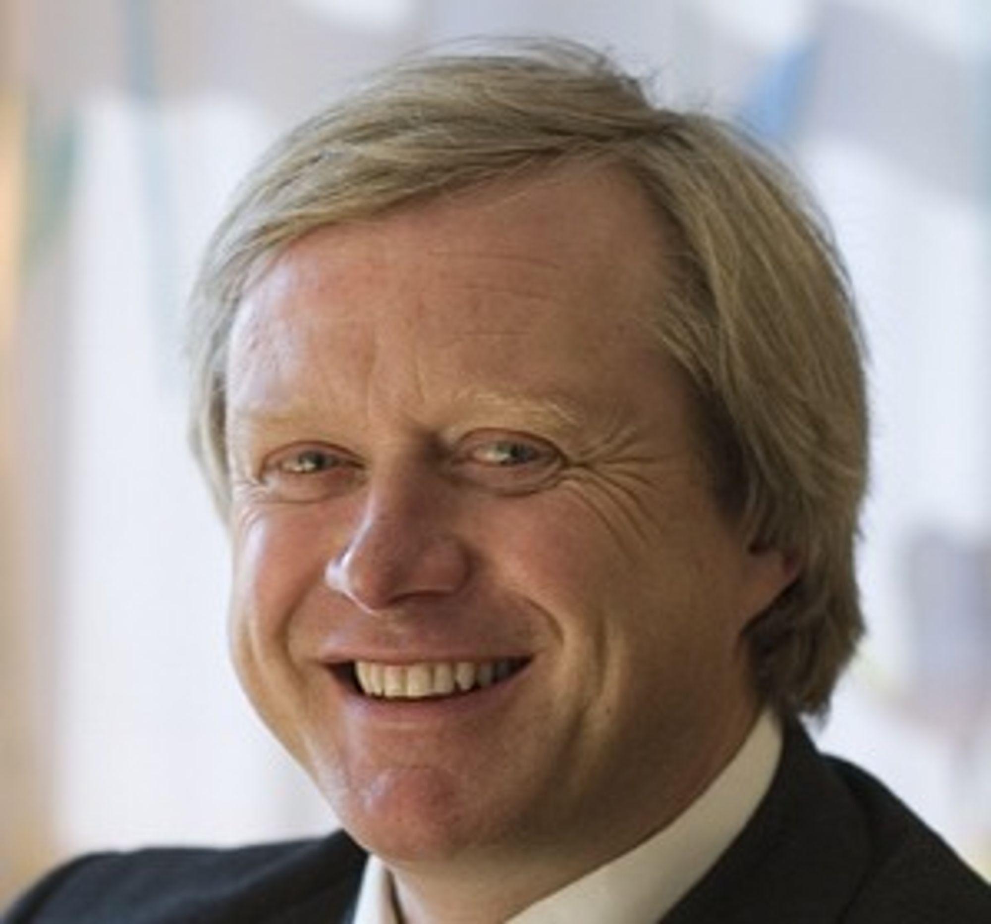 Rolf Skatteboe, administrerende direktør i Kongsberg Satellite Services (KSAT).