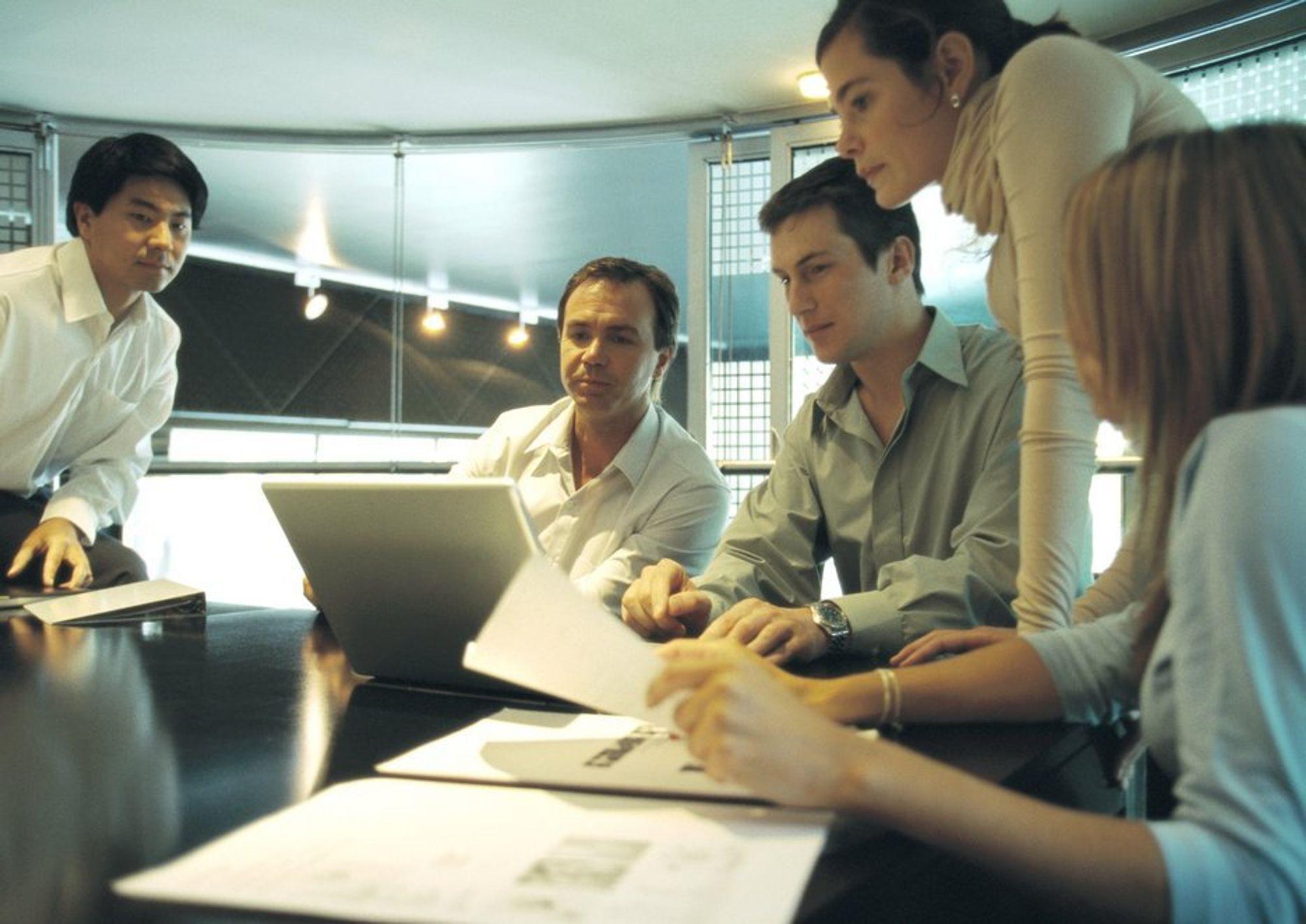 JOBB: Å kunne samarbeide gjør deg aktet på arbeidsplassen.