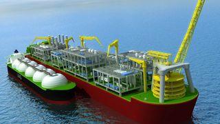 Flytende LNG-satsing fra Shell