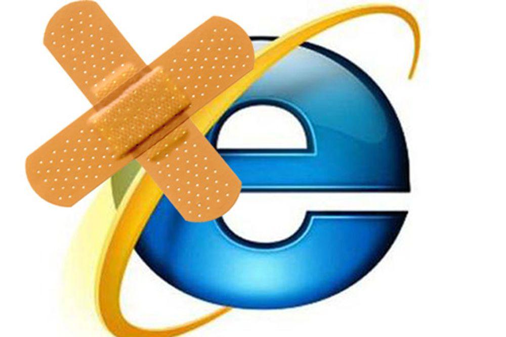 En sårbarhet i Internet Explorer kan gi ukjente kontroll over PC-en din.