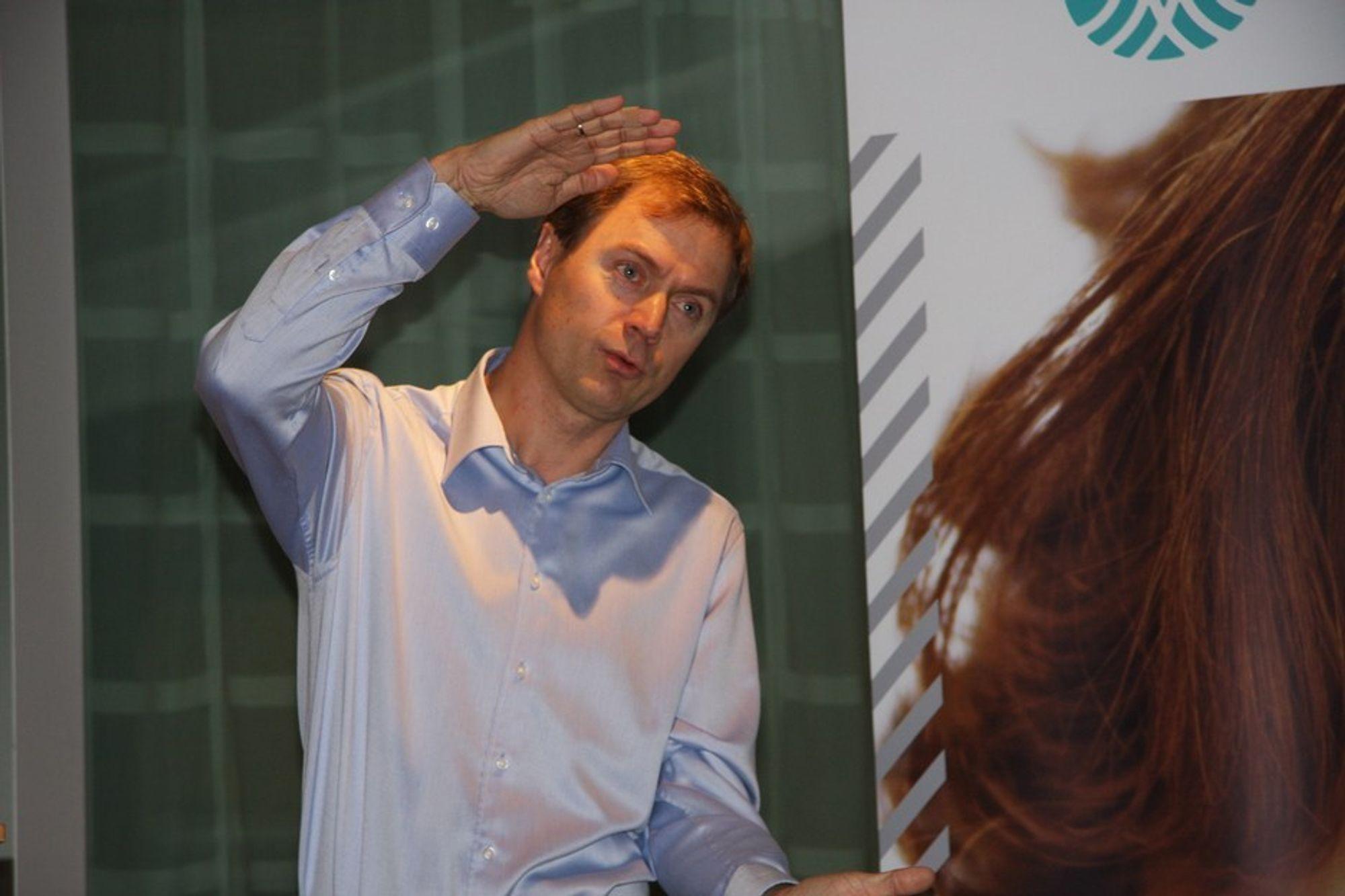 Direktør Knut E. Sunde i Norsk Industri understreker at krisen i industrien slettes ikke er over.