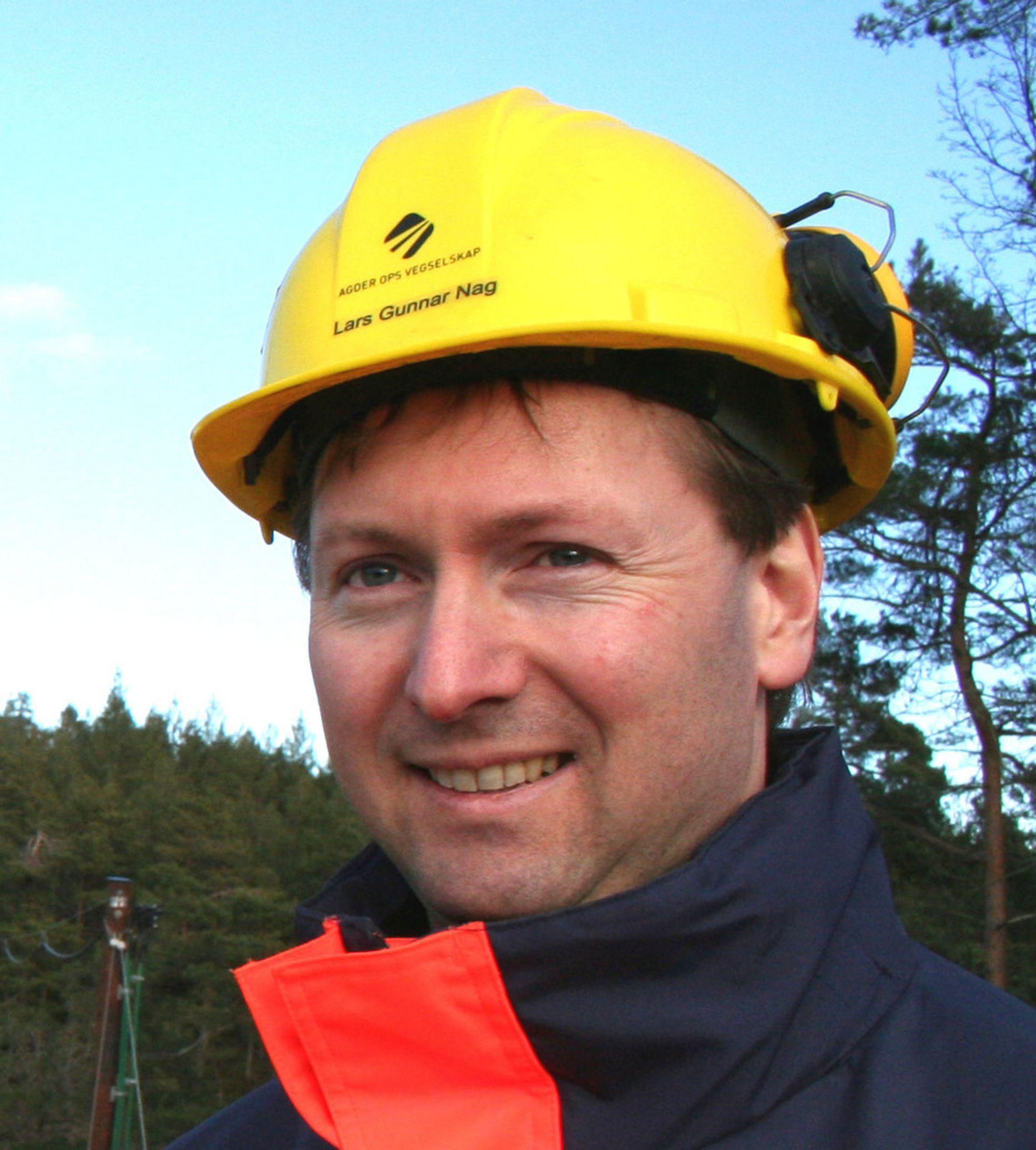 Informasjonssjef i Agder OPS Vegselskap Lars Gunnar Nag