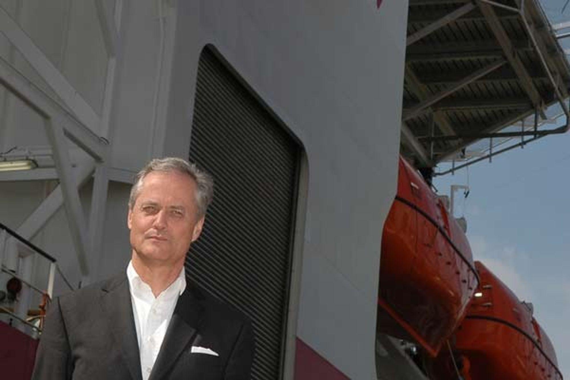 FUSJONERER: Kristian Siems Subsea 7 og Acergy fusjonerer.  - Det fusjonerte selskapet vil være godt posisjonert til å ta store andeler av framtidig vekst i subseamarkedet, sier han.