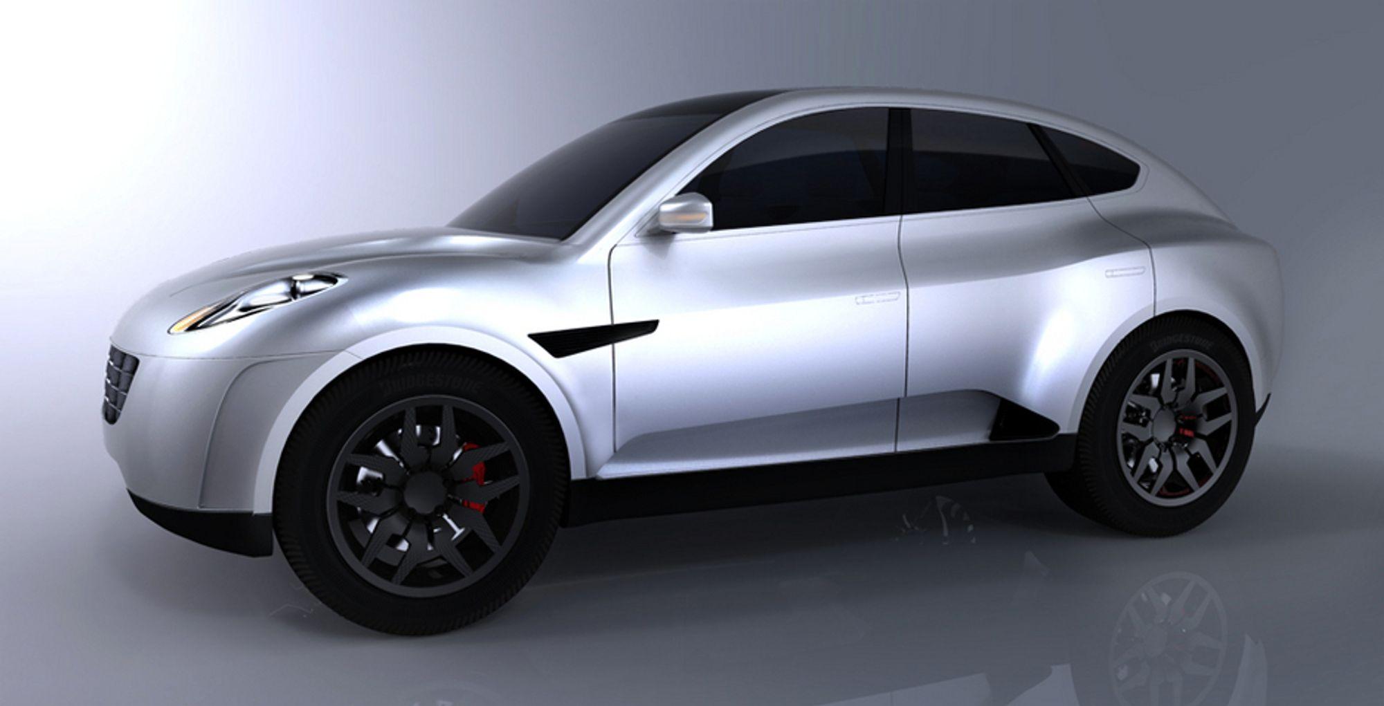 Her er de første bildet av den kommende ladbare crossover-hybriden Velozzi Solo som etter planen skal masseproduseres fra tampen av 2011.