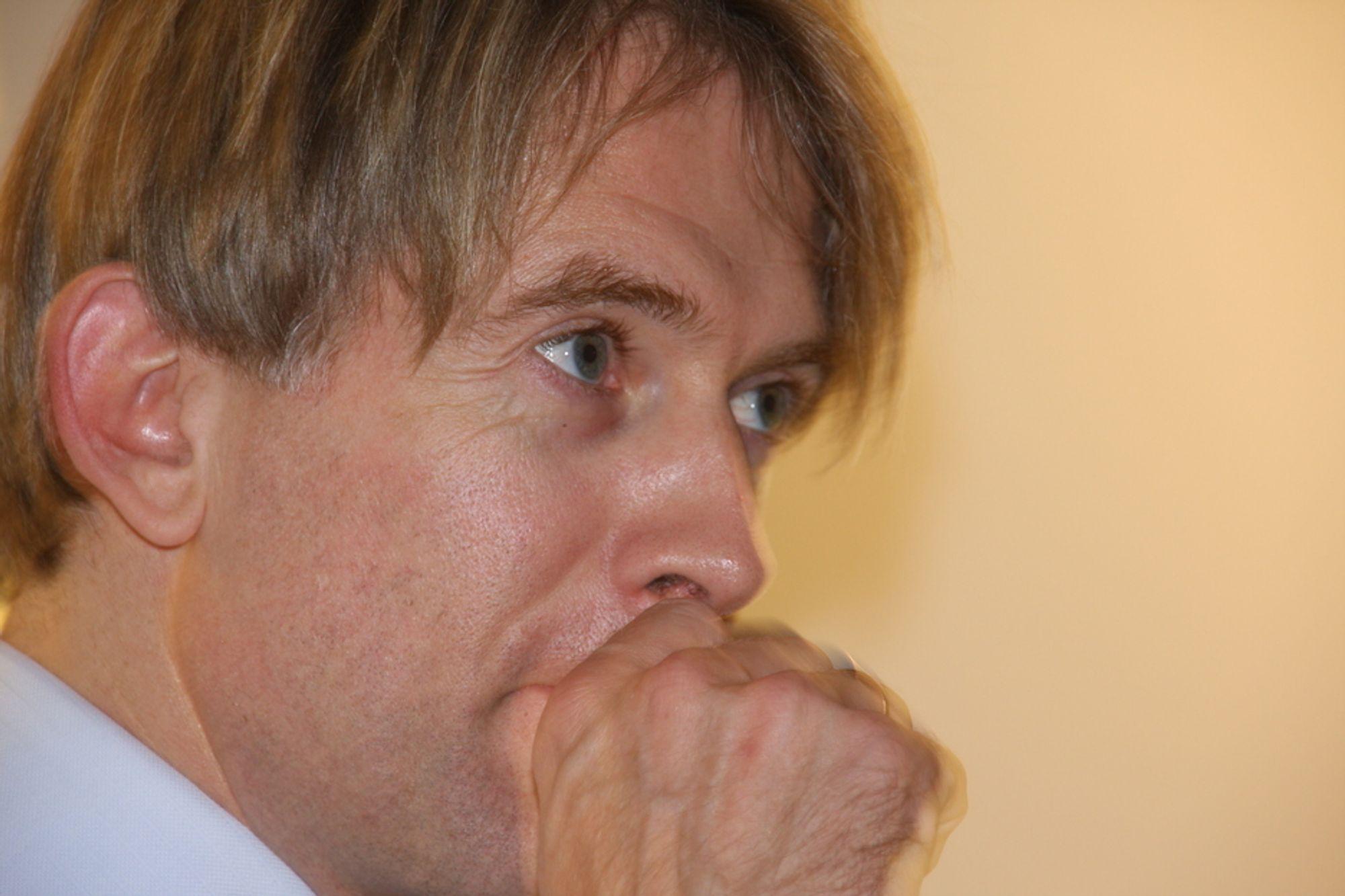 TIER: Adm. dir. Eivind Roald vil ikke fortelle hvor selskapet skal bygge landets grønneste datasenter.