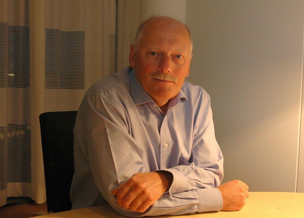 UROVEKKENDE: - Vi ser en sterk tendens til at vi igjen og igjen tror vi skal produsere mer på norsk sokkel enn det vi egentlig gjør, sier Petoro-direktør Kjell Pedersen.