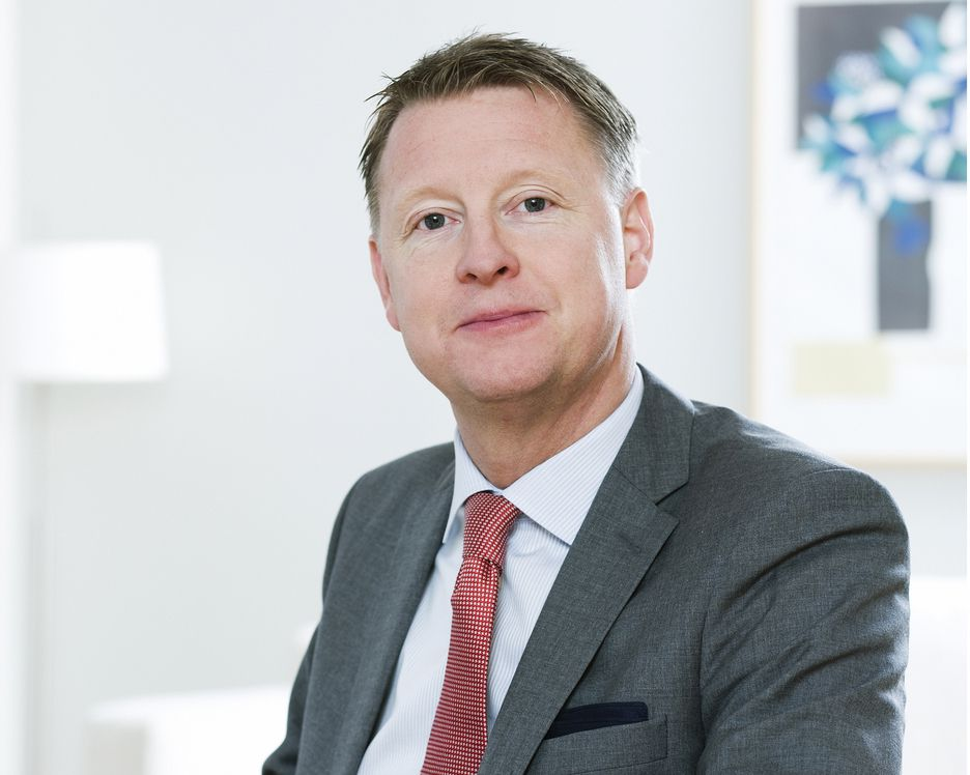 NYTT: Hans Svedberg er ny administrerende direktør i Ericsson.