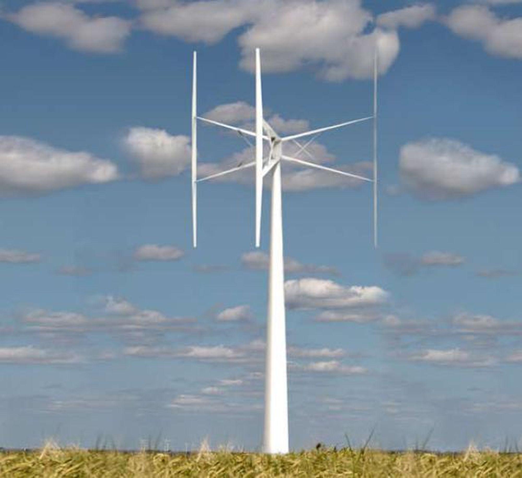 SVERIGES FØRSTE: Disse turbinene skal produseres ved Sveriges første komplette vindkraftfabrikk. Møllene er uten gir, men ganske små og foreløpig beregnet for et nisjemarked.