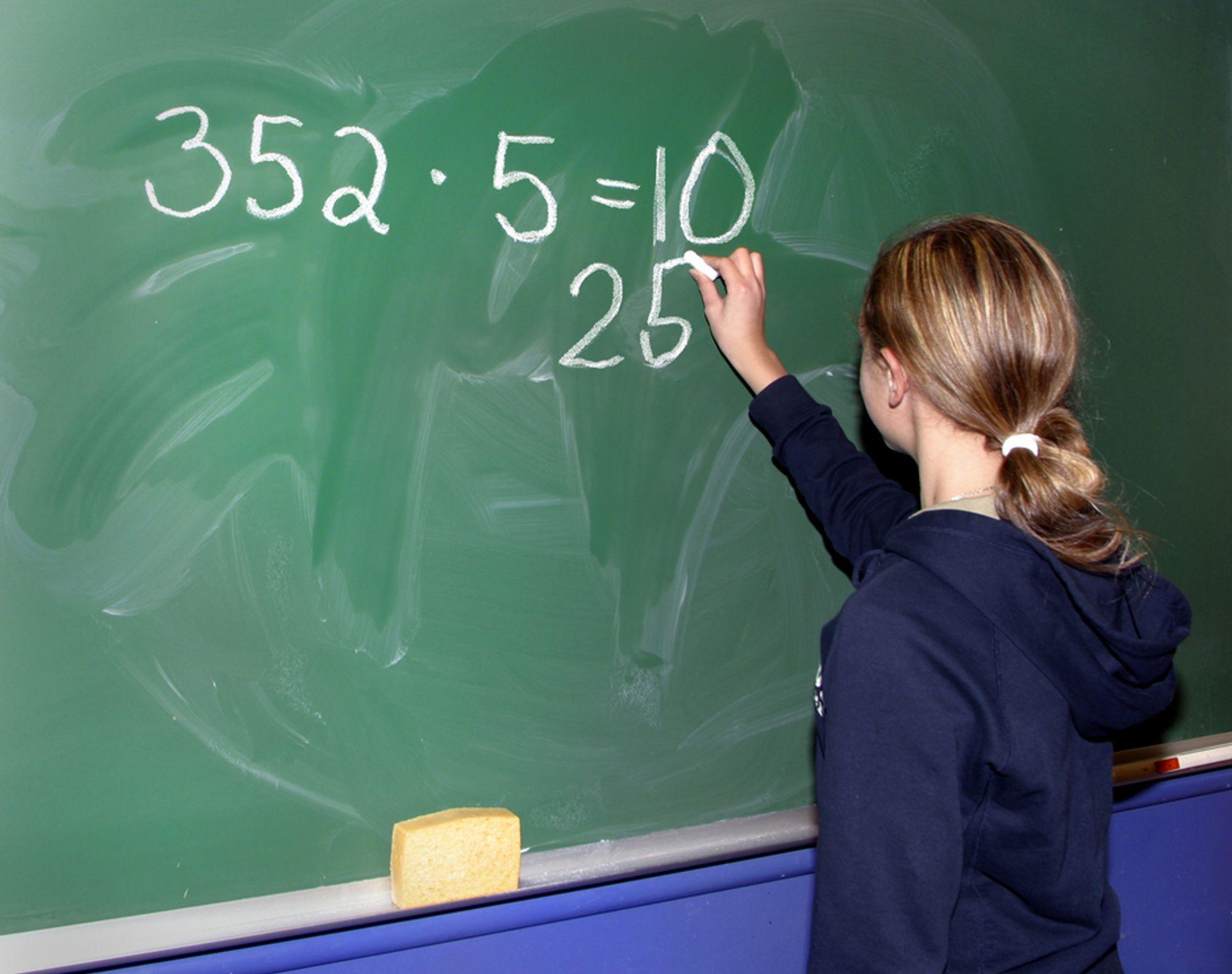 UTVALG: Papirarbeid stjeler tid fra det lærerne egentlig skal gjøre.