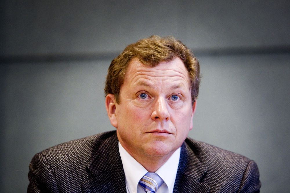 John Gordon Bernander , administrerende direktør i Næringslivets hovedorganisasjon (NHO)
