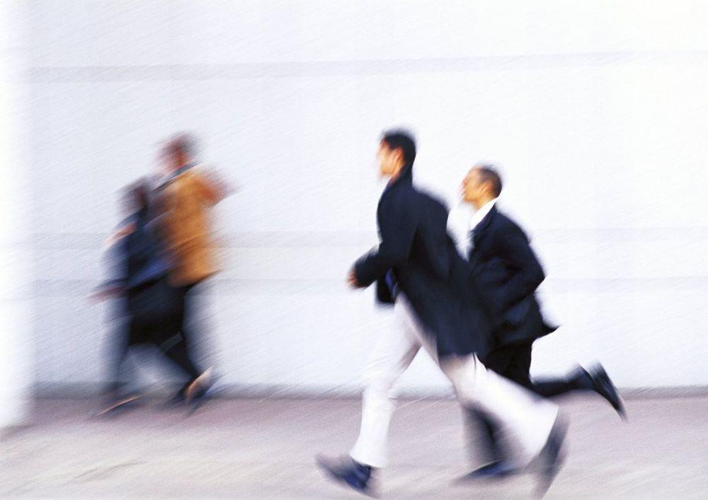 TALL: Karrieristene forsvinner fort til en annen jobb hvis de ikke tilfredse.