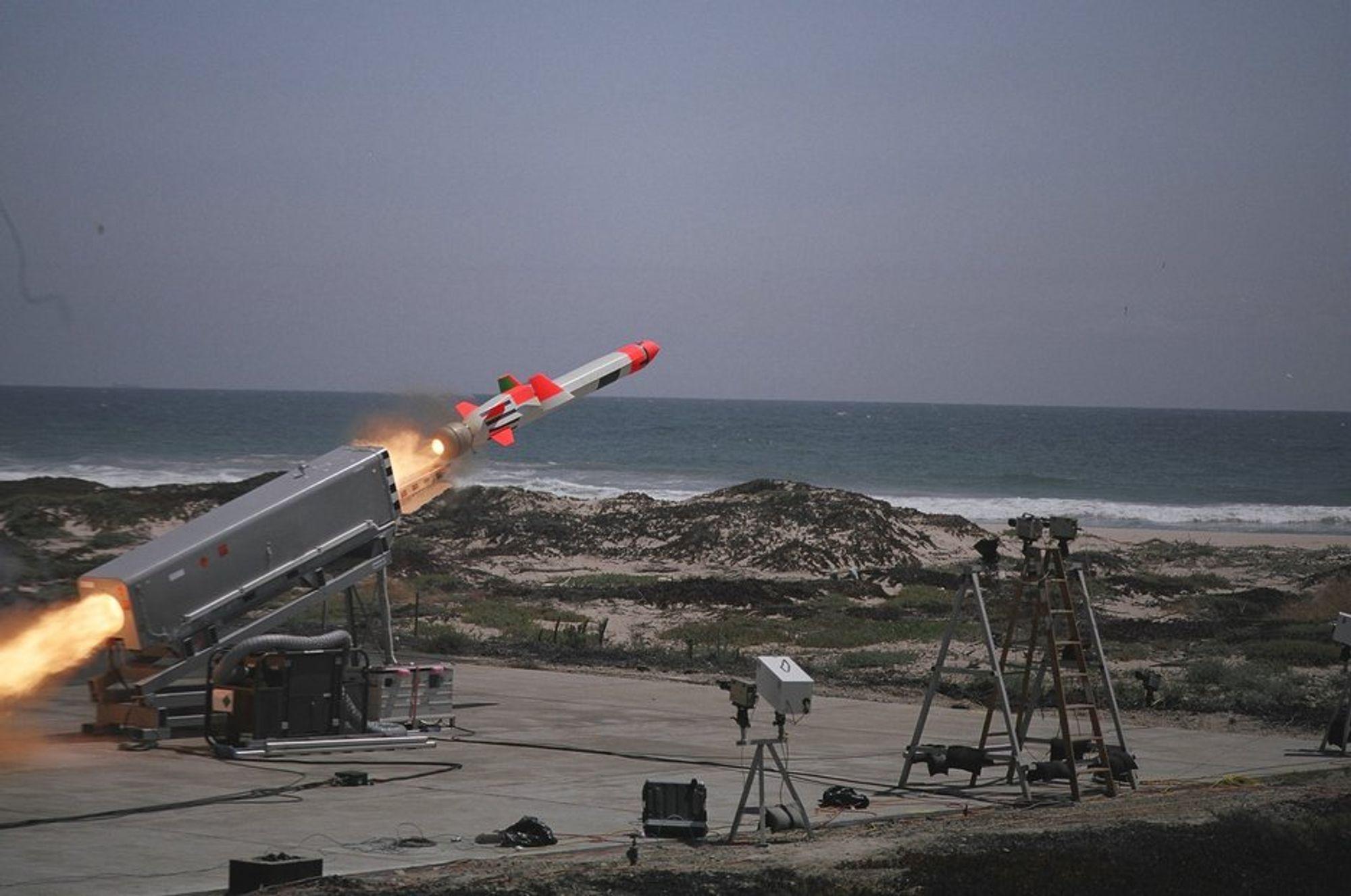 MISSIL: JSM er en videreutvikling av det Kongsberg-produserte NSM-missilet.