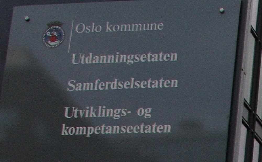 Hjemmelaget: Oslo kommune har selv stått for IT-driften etter at EDB trakk seg ut, men søker nå etter en profesjonell leverandør.