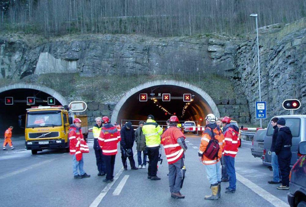 BRANNFELLER: Det har vært mange alvorlige tunnelbranner de siste årene i Europa.