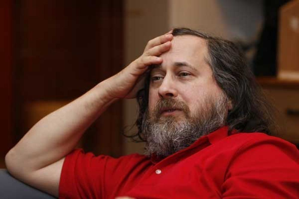 Richard Stallman er mannen som startet Free Software Foundation