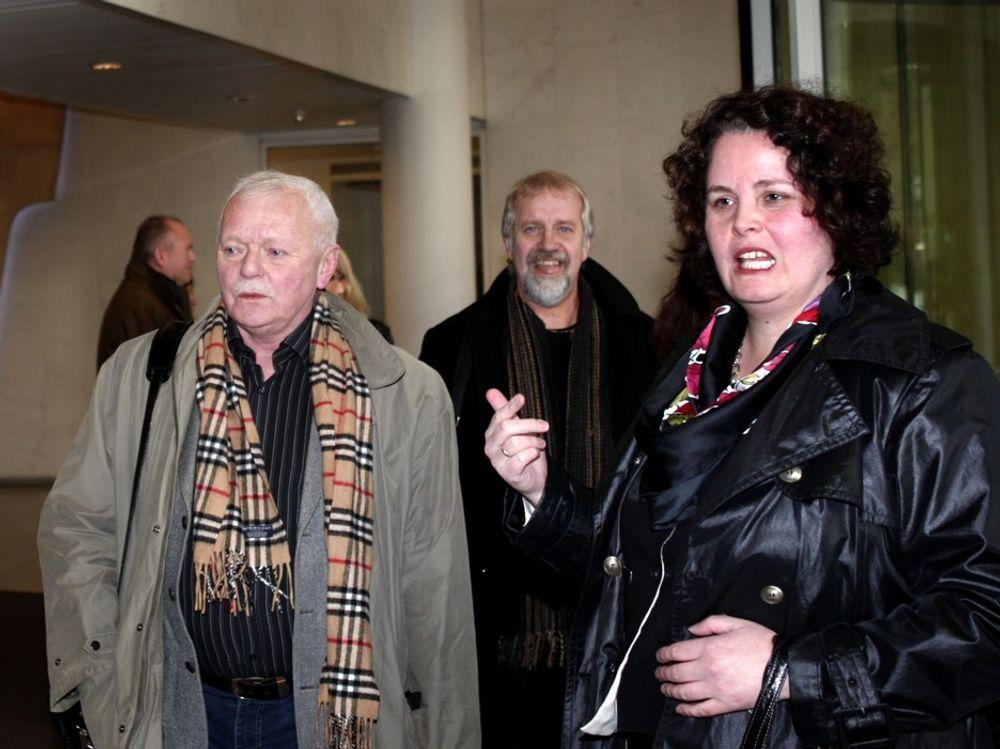 Høyangerordfører Kjartan Longva møtte nærings- og handelsminister Sylvia Brustad mandag formiddag.