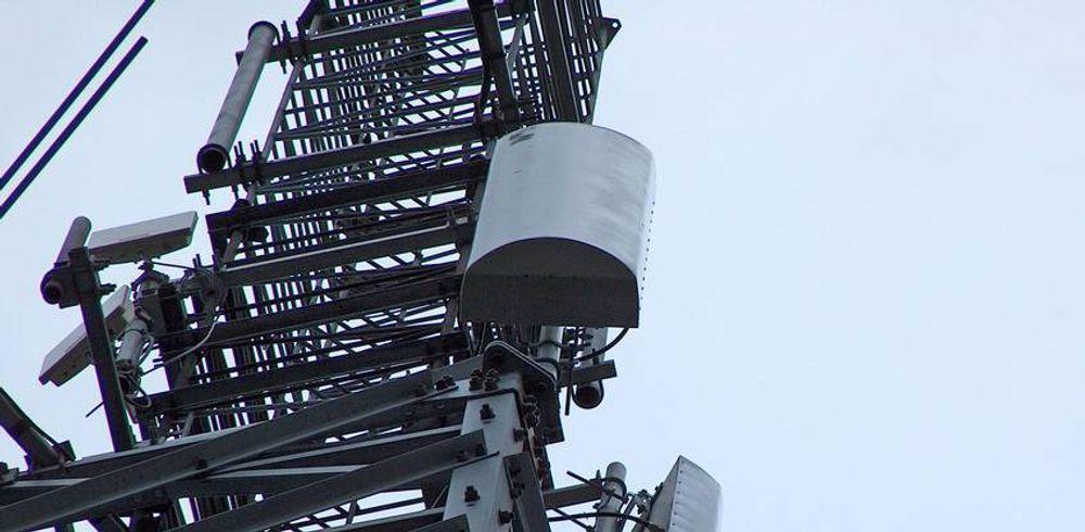 IKKE SLUTT LIKEVEL: Kun timer etter Nordisk Mobiltelefon gikk under, lanseres Ice i ny, offensiv drakt med amerikanske eiere. Her representert ved en av selskapets karakteristiske 450 MHz-sendere.