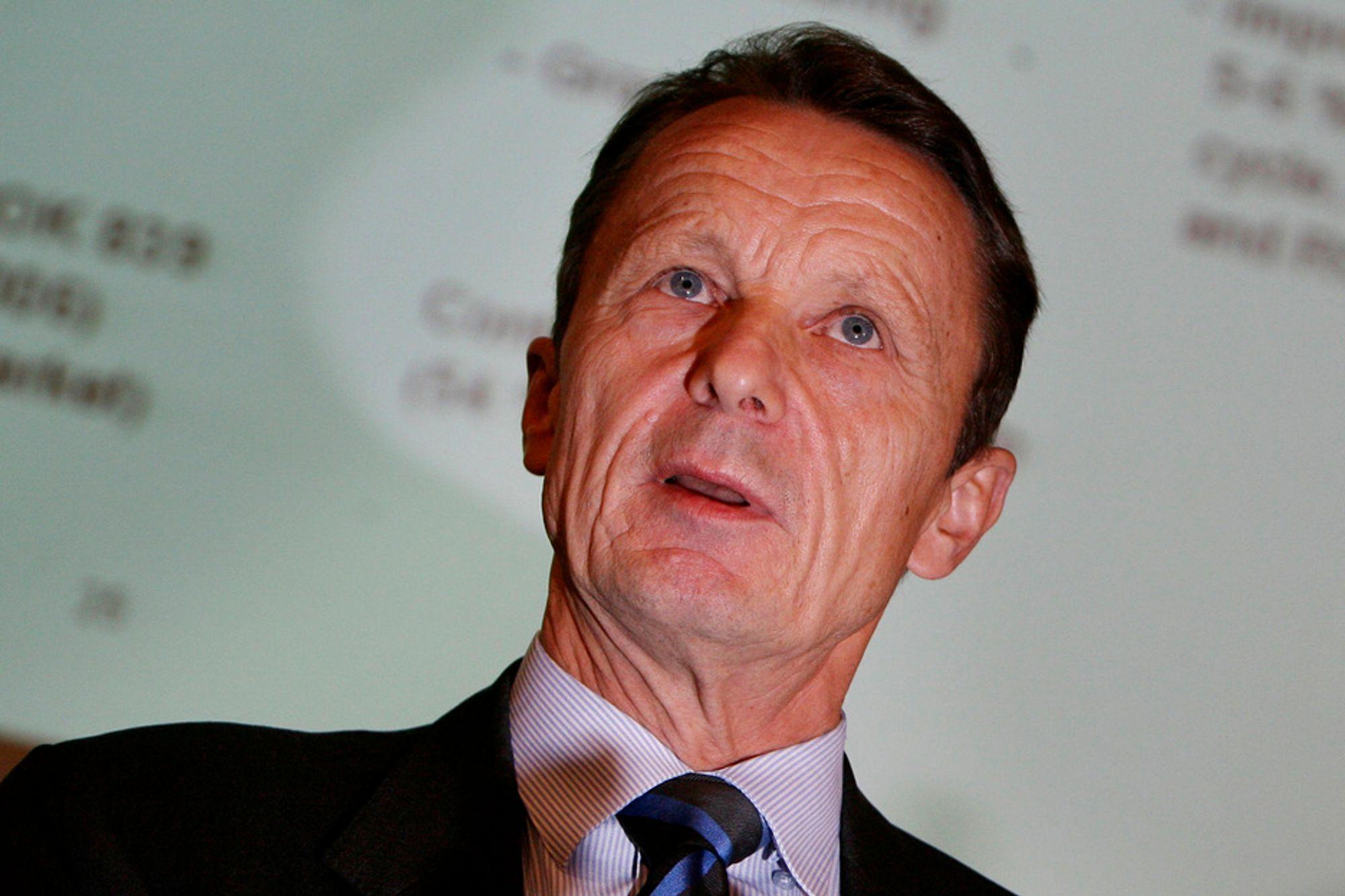 Rec-sjef Ole Enger må bruke mye penger på å rette opp en produksjonsfeil.