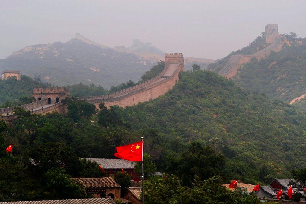 Den kinesiske mur har vært anslått til rundt 5.000 kilometer. Nye målinger viser at den egentlig er nærmere 9.000 km.