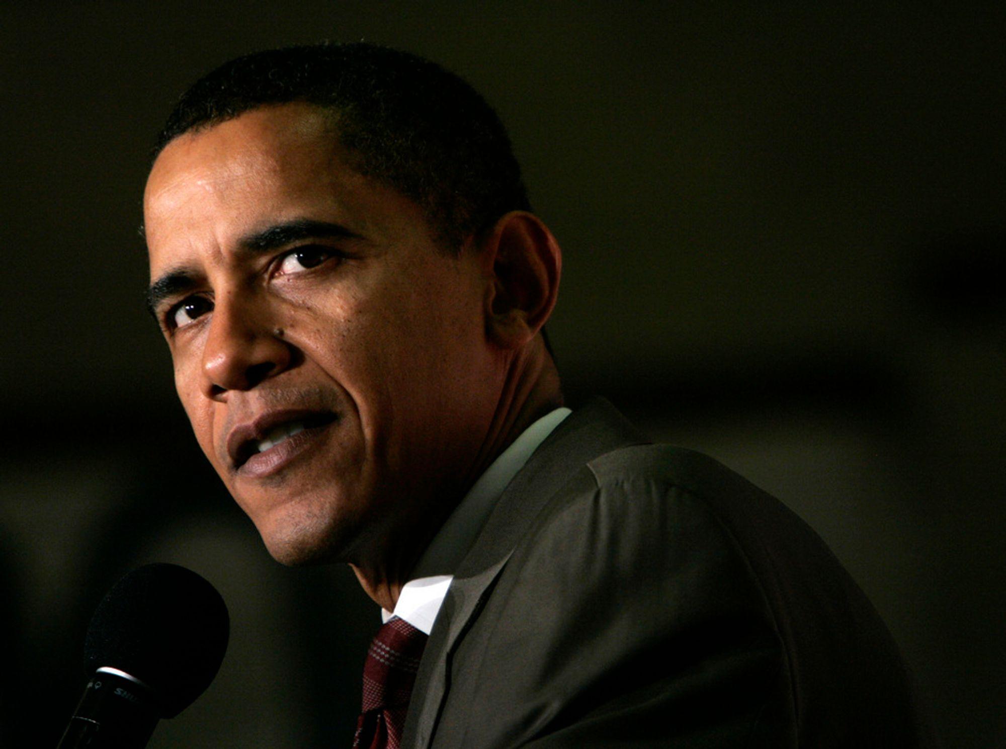 FÅR ANSVARET: Forandringens talerør til tross - også Barack Obama vil videreføre USAs tradisjon for å søke kontroll over energileveransene.