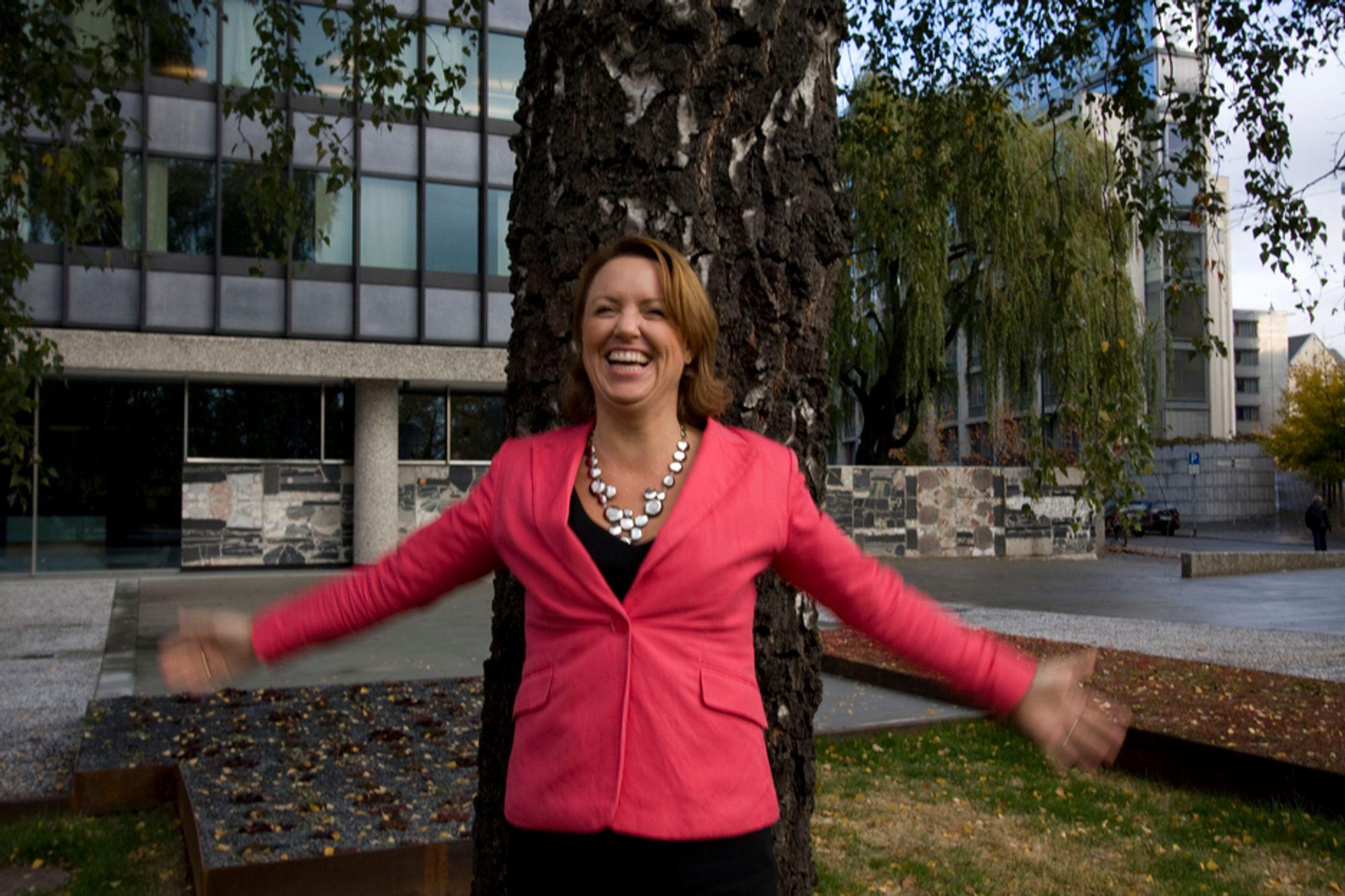 KLAR: RIFs Liv Kari Hansteen vil ta imot arkitektene med åpne armer.