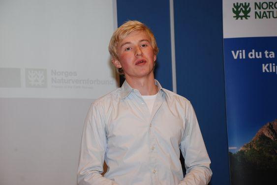 Bård Lahn i naturvernforbundet oktober 09