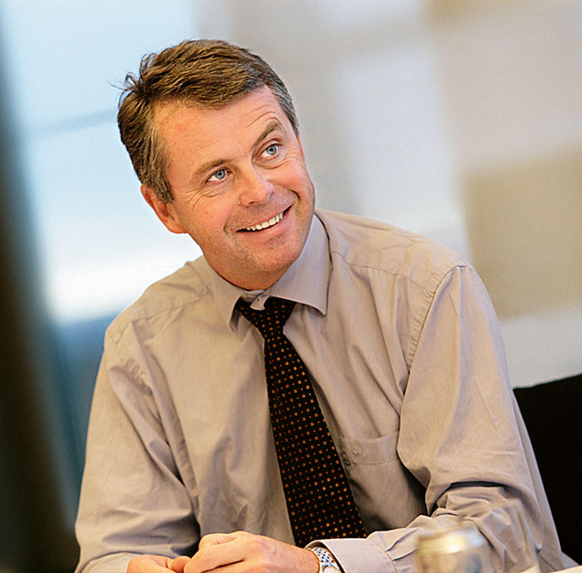 RINGEN SLUTTET: Petter Eiken vil ikke lenger pendle til Stockholm, og overtar på nytt ledelsen av Skanska Norge.