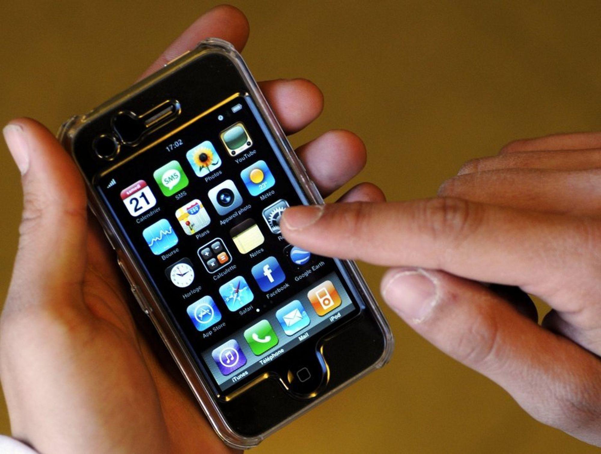 Nokia er ikke fornøyd med at Apple skal ha kopiert patentert teknologi i sin iPhone. Dermed saksøker finnene Apple.