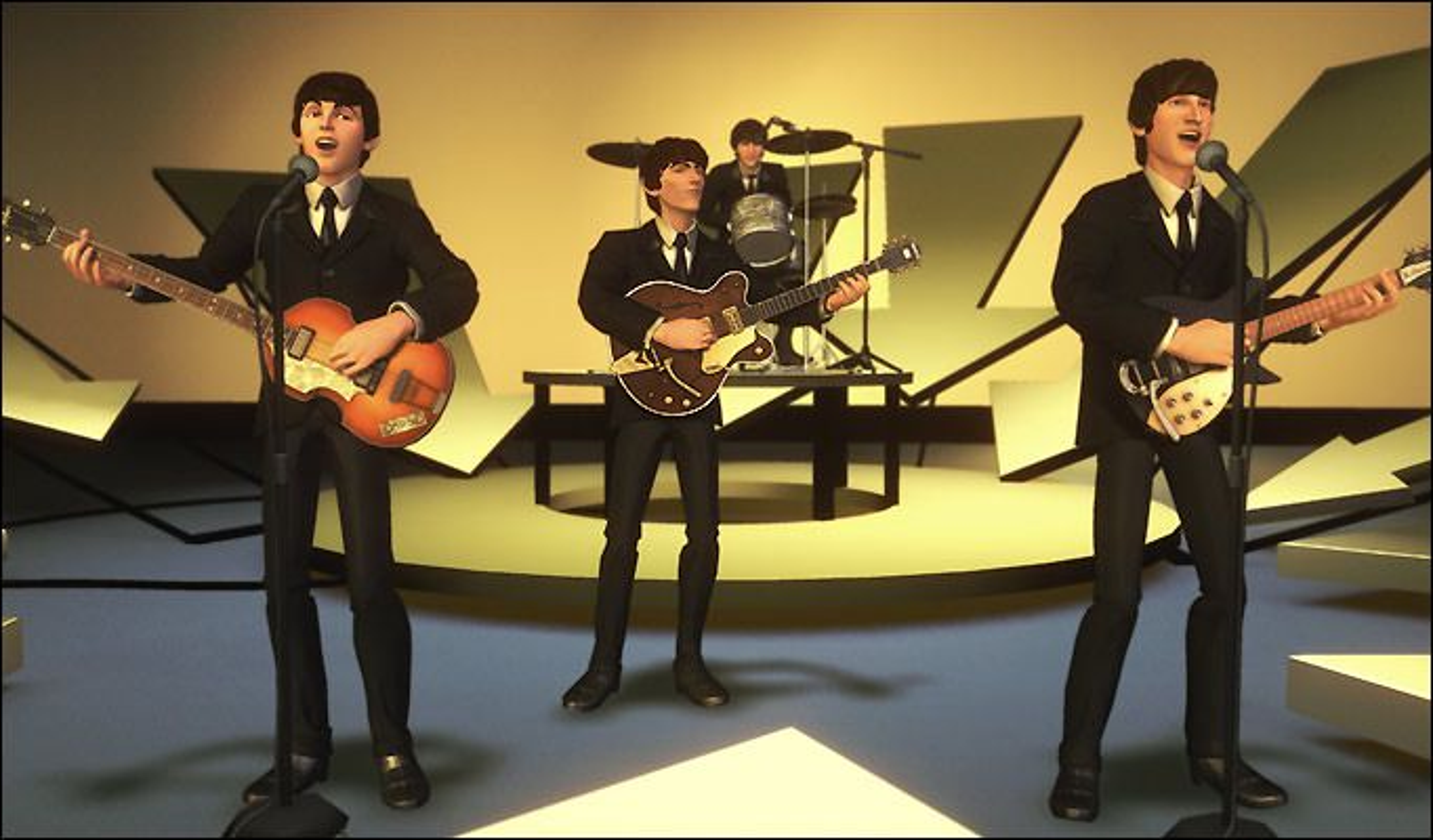 Beatles-utgaven av Rock Band lar deg spille din favorittbille.