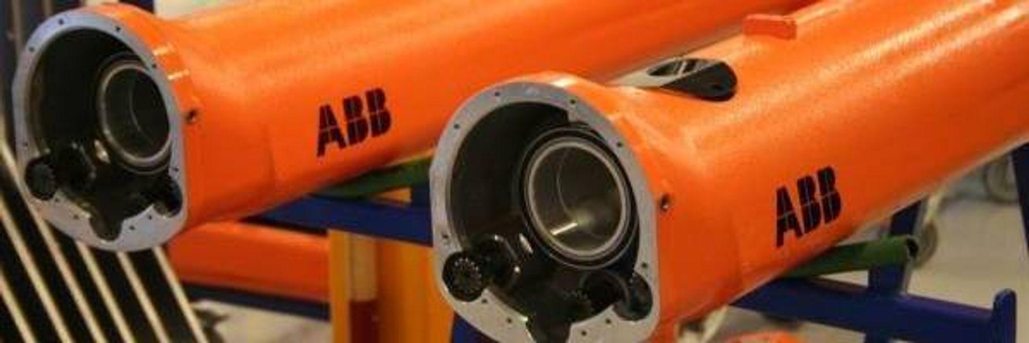 UT AV LANDET: ABB flytter produksjonen av lakkeringsroboter fra Bryne til Kina.