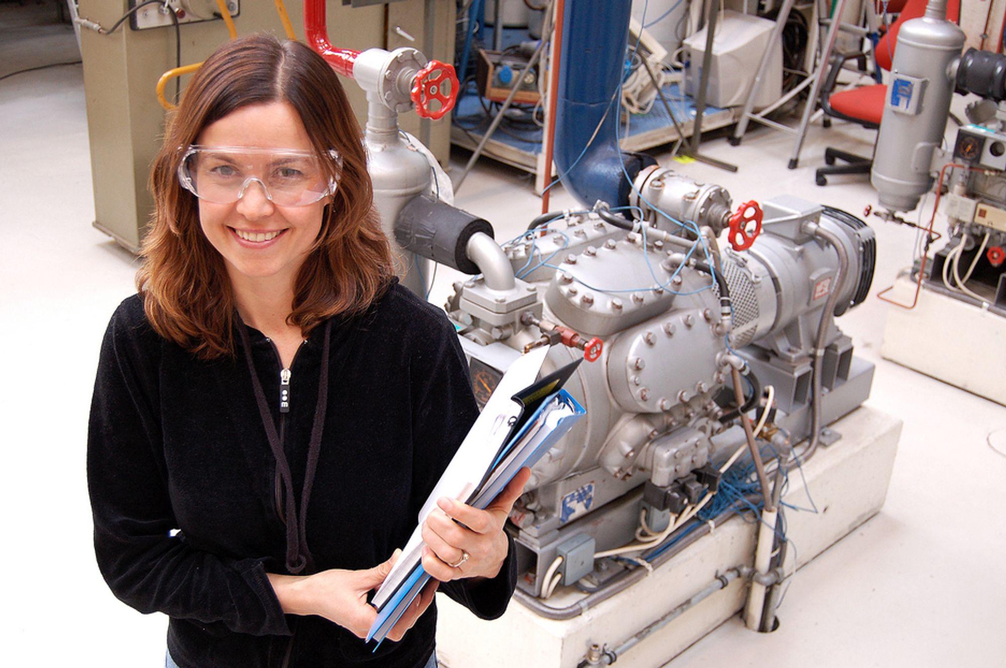 KALDT: - Det ligger et stort klimagasspotensial i å utnytte CO2 i kuldeanlegg, sier Sintef-forsker Anne Karin Hemmingsen.