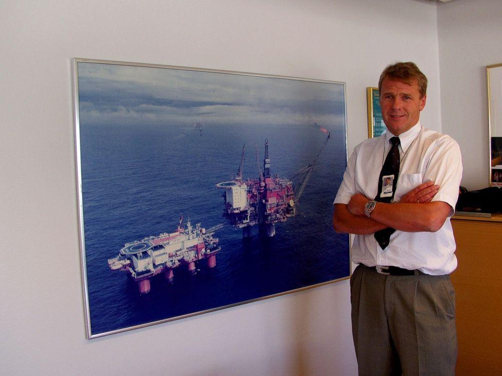 BYTTET BEITRE: Øvind Reinertsen ledet tidligere Tampenområdet i Statoil. Nå er han sjef for USA og har satt satt i gang det første større utbyggingsprosjektet på dypt vann i Den mexicanske Golfen.