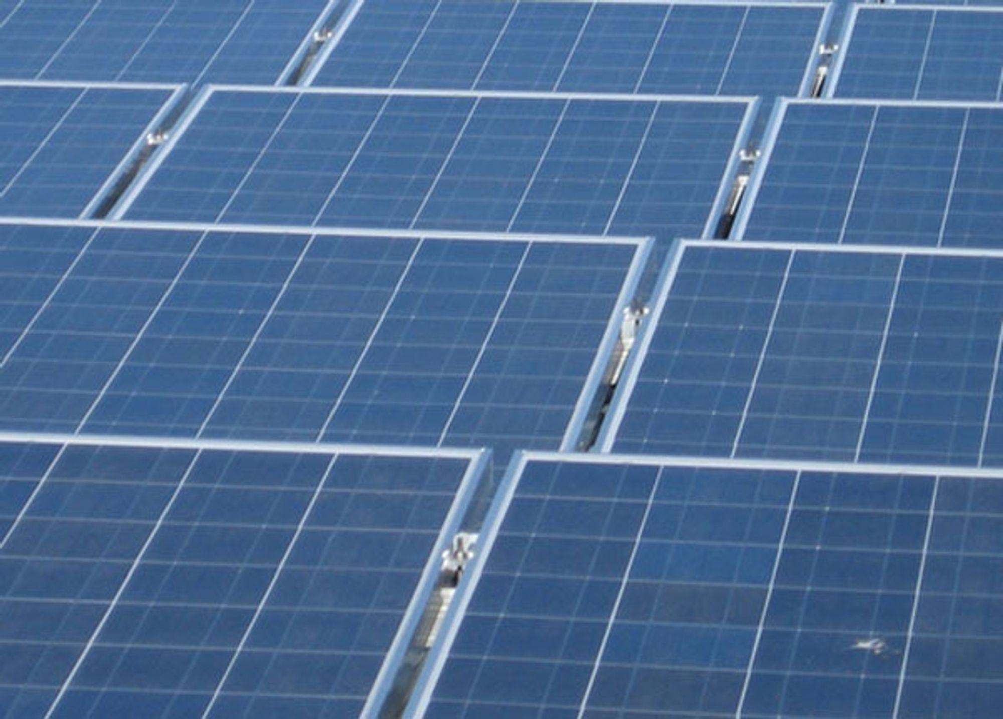 Snart er de nye typene solceller klare. Virkningsgraden er kraftig forbedret.