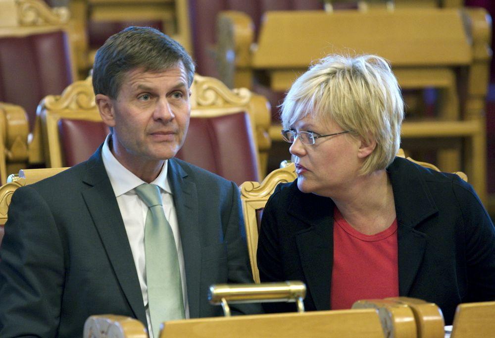 Miljøvernminister Erik Solheim vil ha metallindustrien til å frivillig redusere utslippene sine. Om de får til det, lover han å snakke pent med finansministeren om skatte- og avgiftskutt.