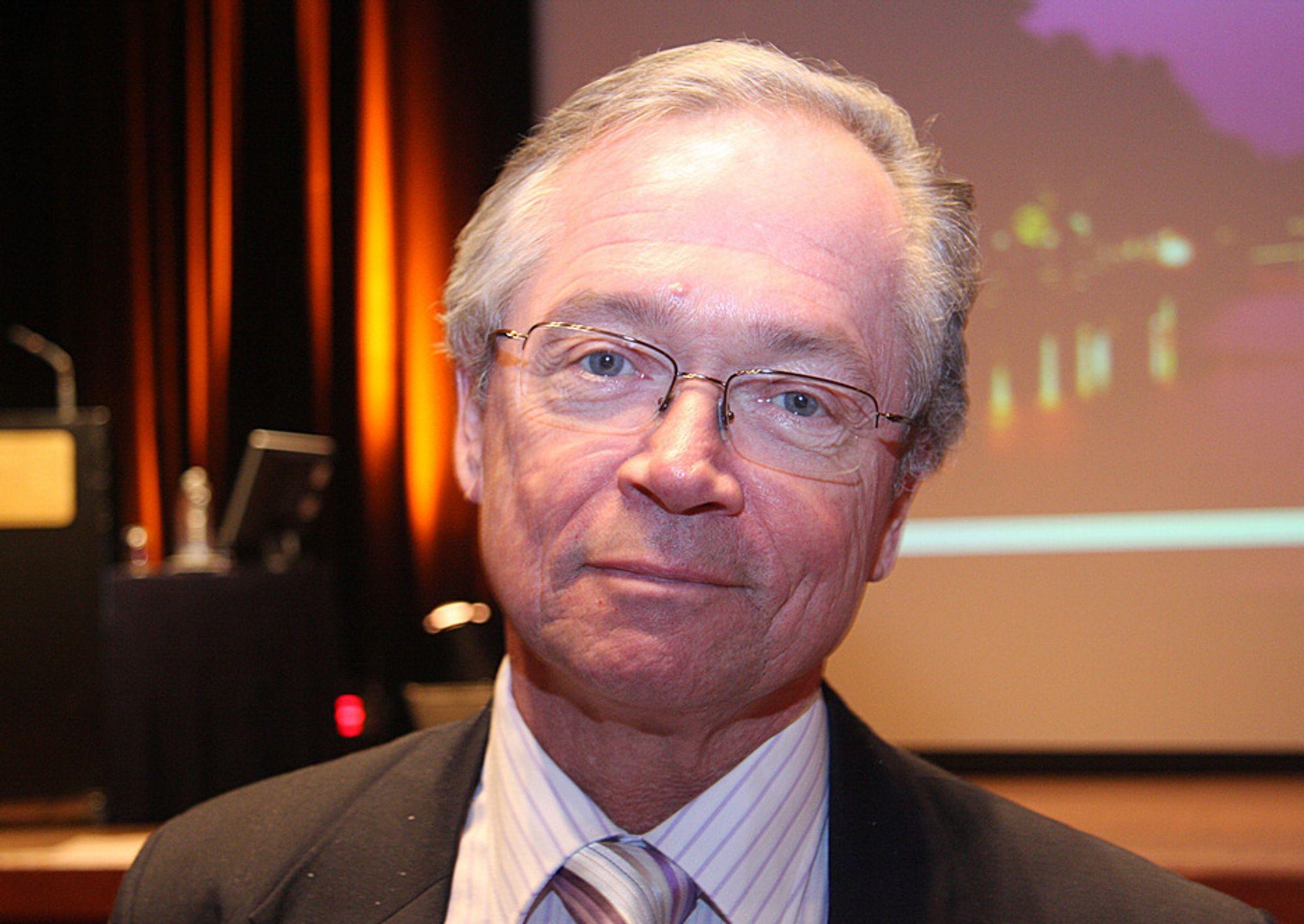 Vattenfall-sjef Gunnar Lundberg mener Tyskland gjør feil i å avvikle kjernekraften.