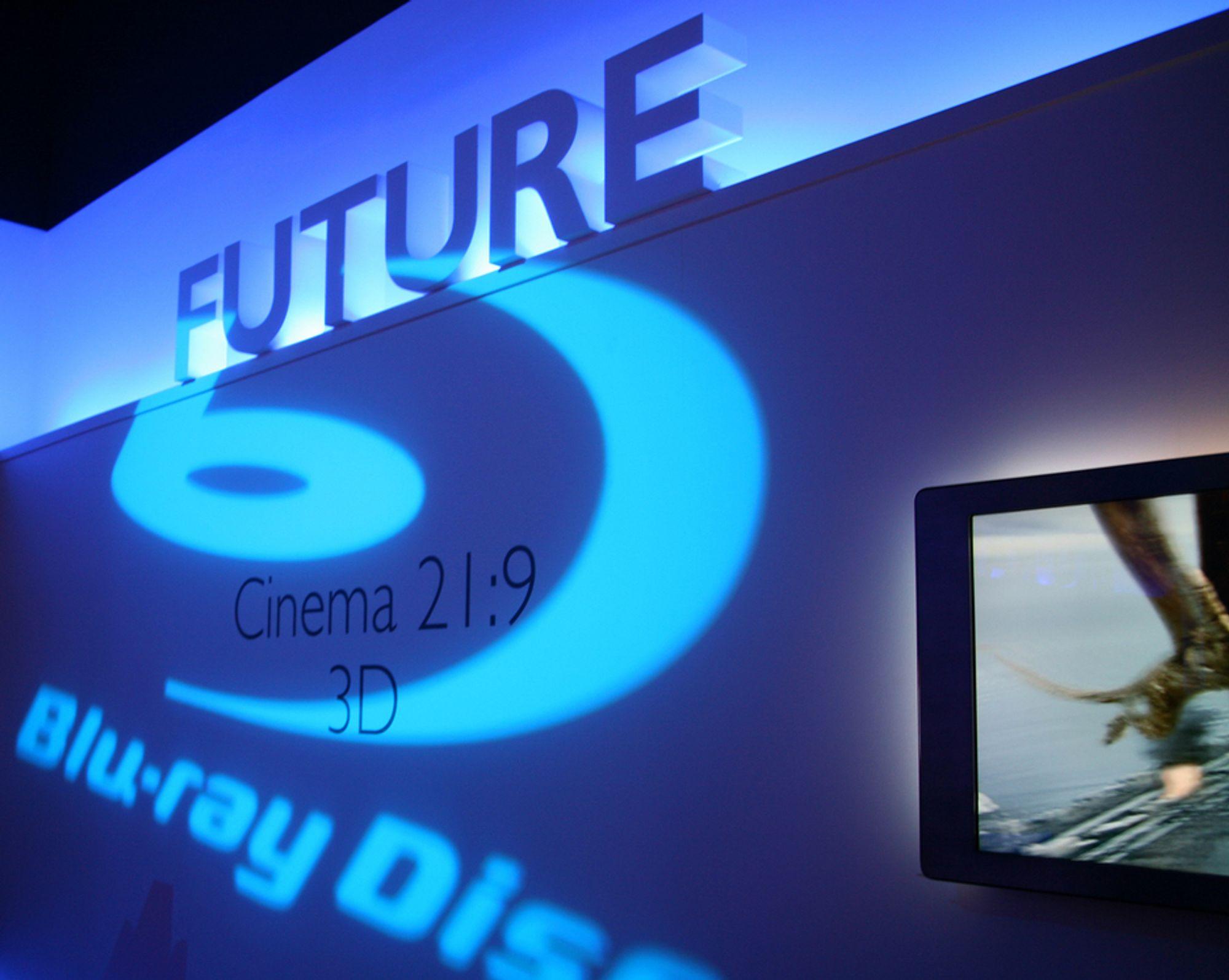 NYTT: Blu-ray-teknologien utvikler seg.