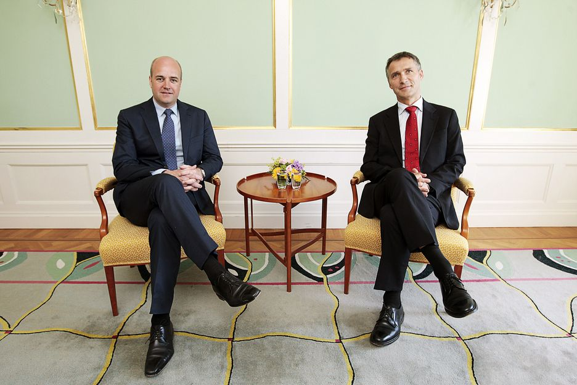 Måndagen den 22 juni träffade statsminister Fredrik Reinfeldt Norges statsminister Jens Stoltenberg.