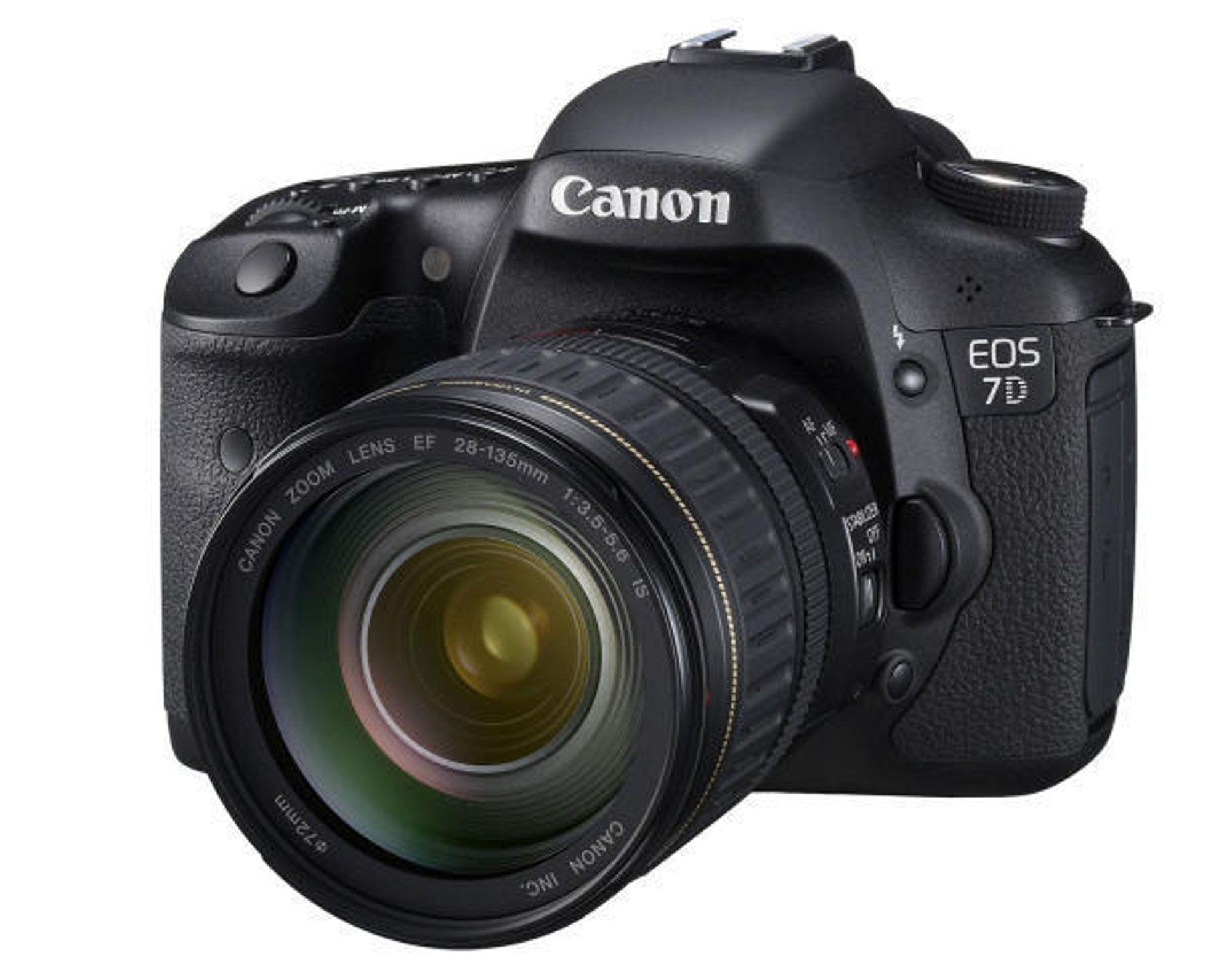 7D: Du kan filme i HD-kvalitet.