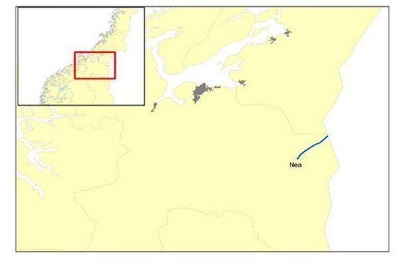 Nea-Järpstrømmen 420 kV kraftlinje mellom Midt-Norge og Sverige