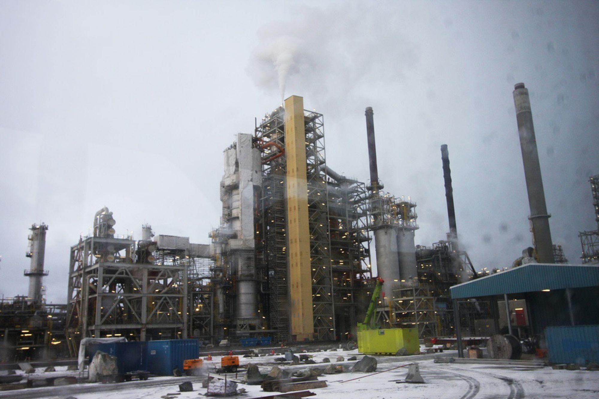 FOR DYRT: BKK dropper CO2-fangst på Mongstad.