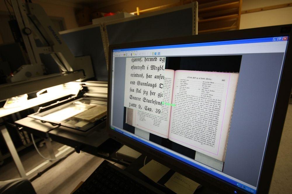 STOPPER: Tilgang til bøker og film på Europeana stoppes av nasjonale regler.
