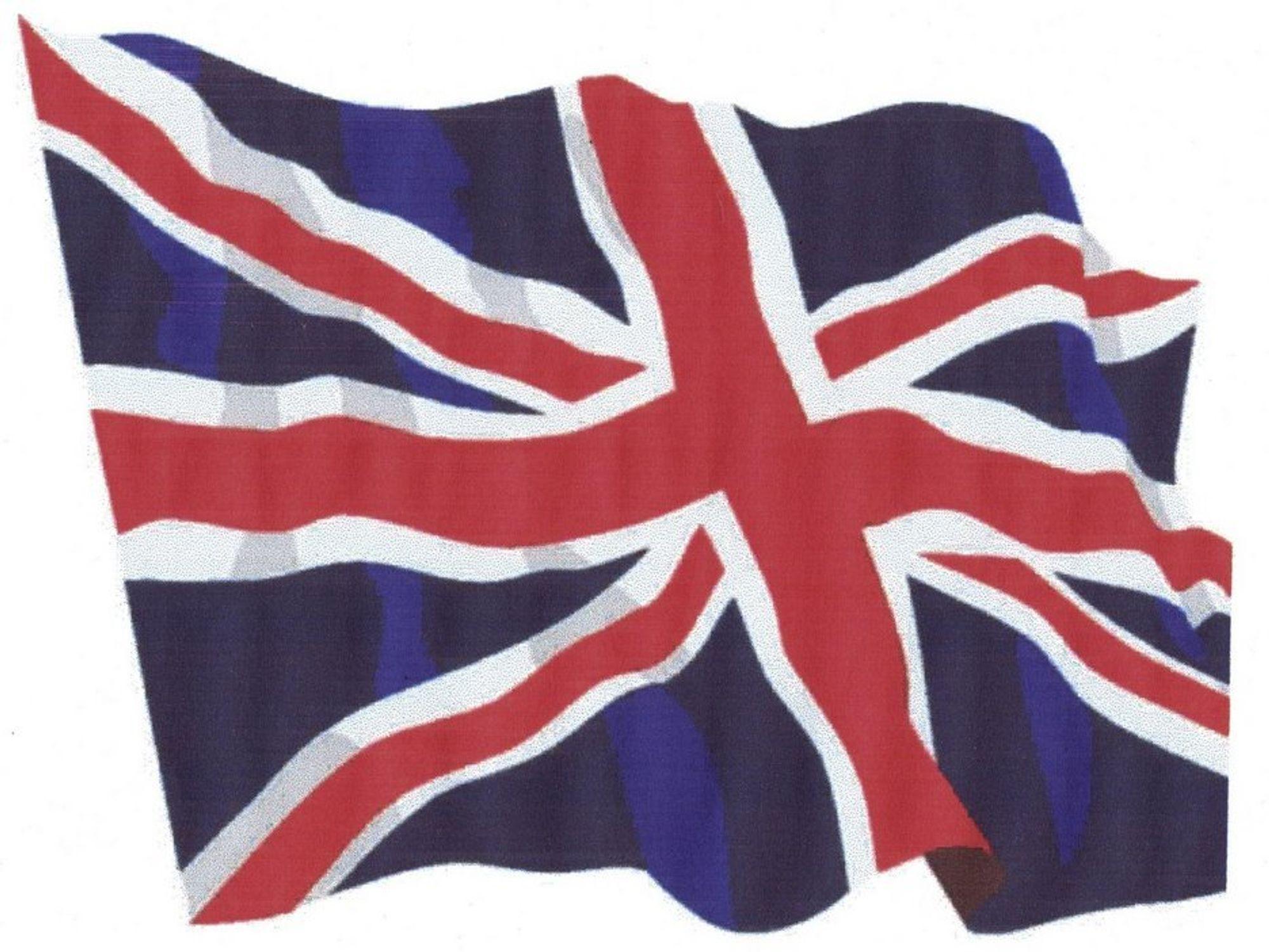Det britiske flagget.