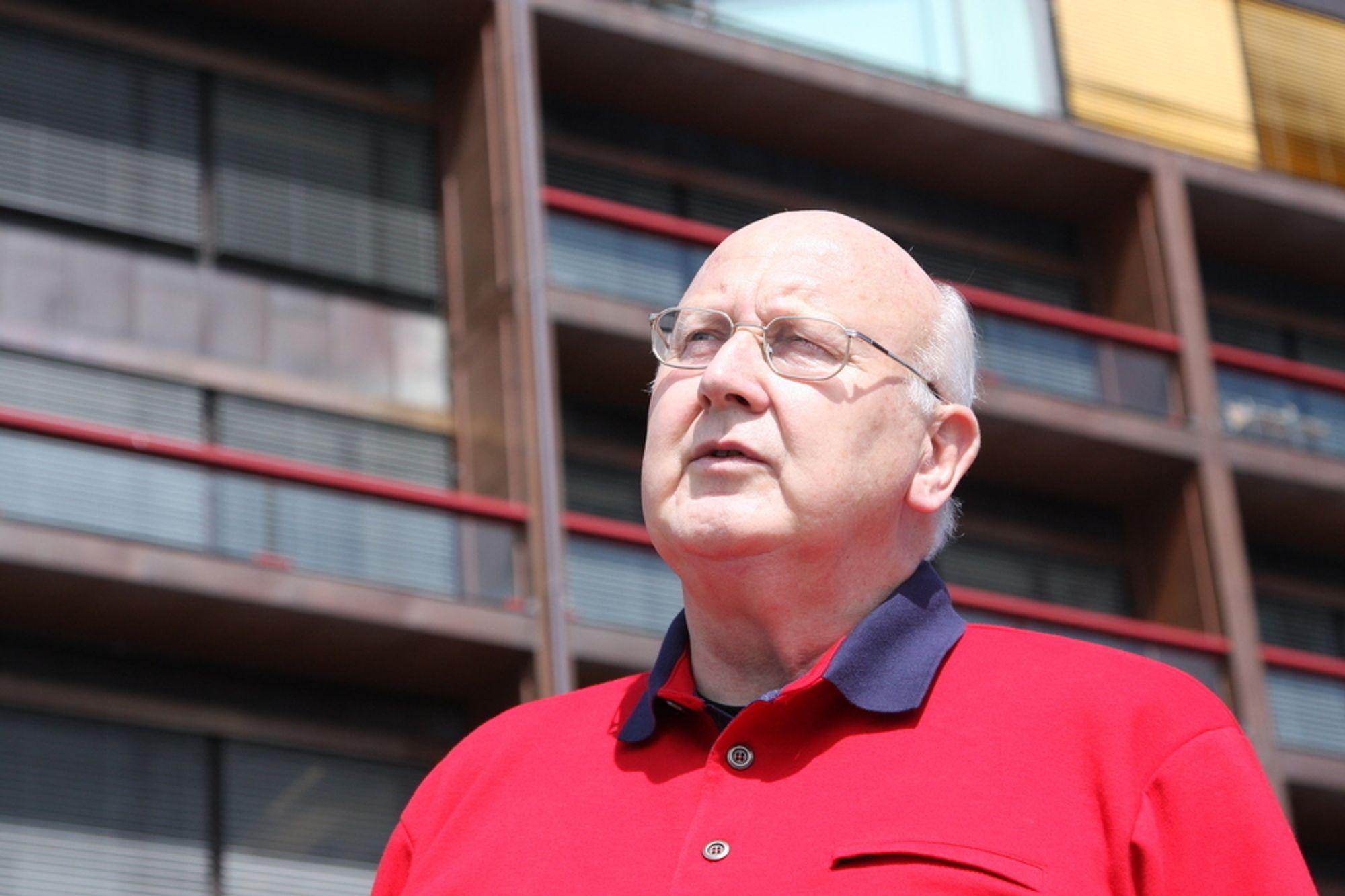Rødt-leder Torstein Dahle er svært skeptisk til Erik Solheims miljøvisjoner om de rødgrønne får fortsette i regjering.