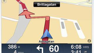 Mer navigasjon til iPhone