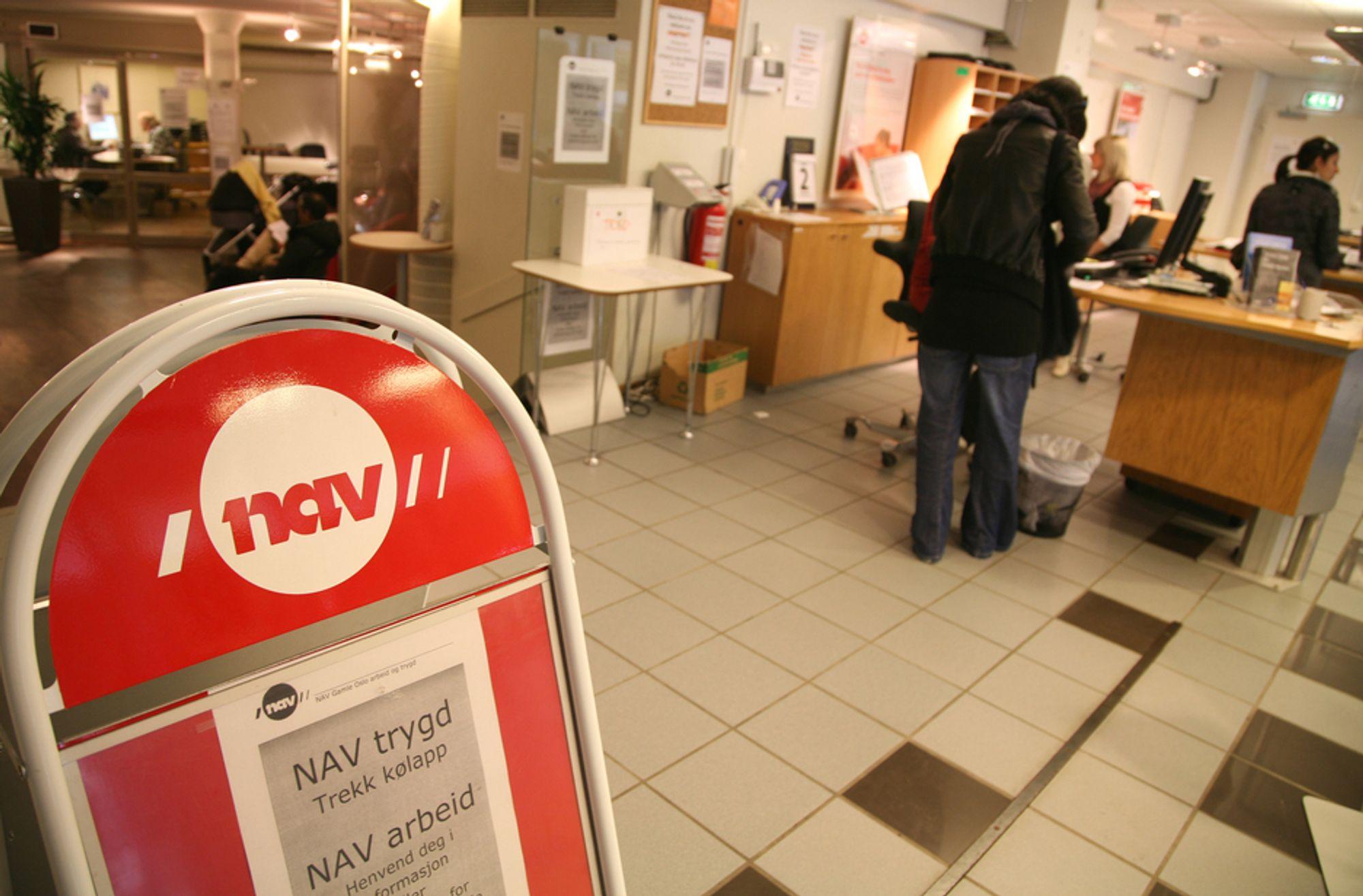 TALL: En av fem unnlot å besøke NAV med tanke på å skaffe seg jobb.