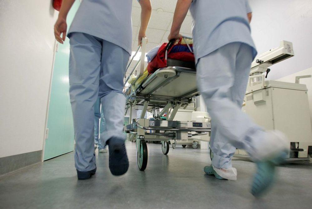 HEFTIG VIRUS: Et virus har spredt seg i rekordfart, og slått ut sykehus på store deler av vestlandet. Ingen pasientopplysninger skal ha kommet på avveie.
