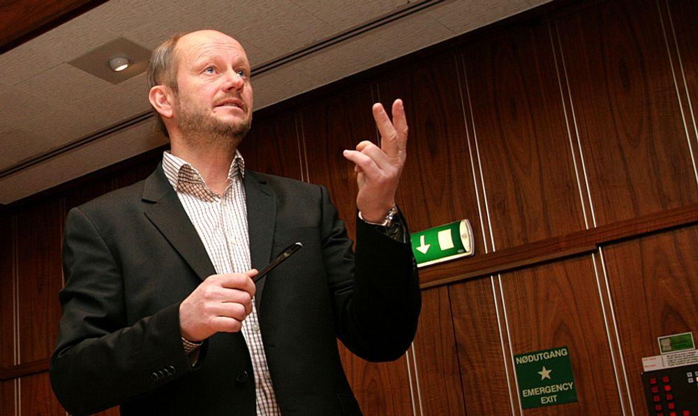 Direktør Stein Lier-Hansen i Norsk Industri er fornøyd med Kofas dom over Steinkjer kommune.