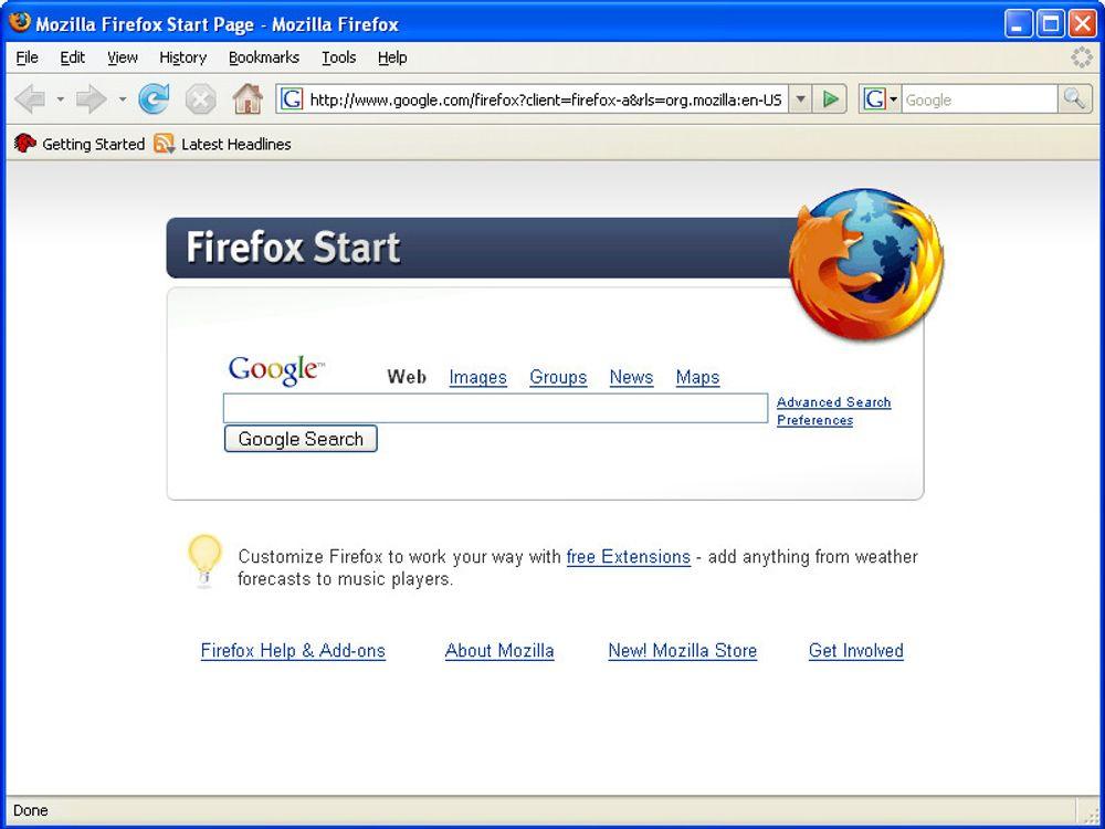 Mozilla Firefox - Internett-utfordreren