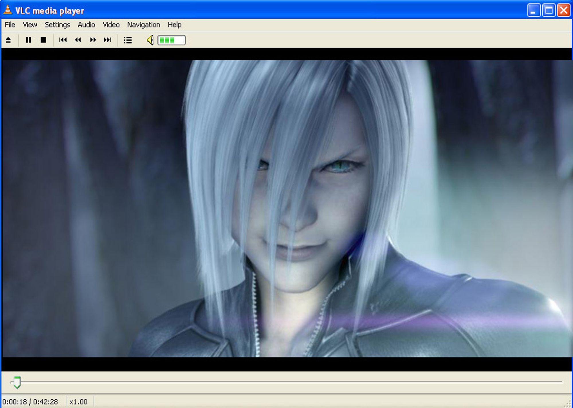 VLC Media Player - universalløsningen